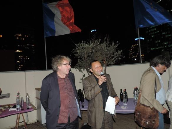 Olivier Rubinstein et Misha Wolkowicz