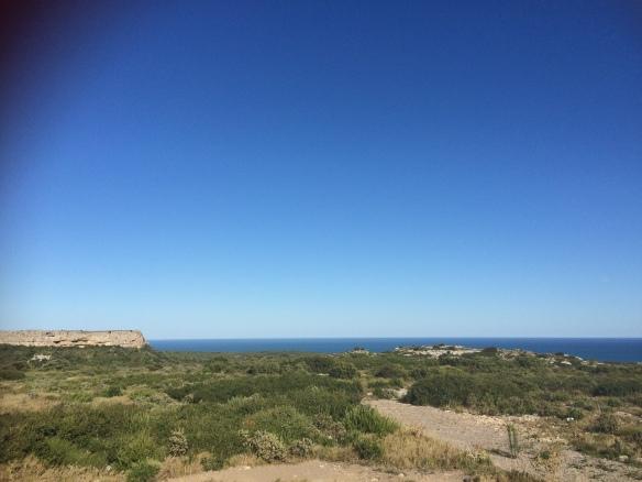 Massif de La Clape, face à la Méditerranée